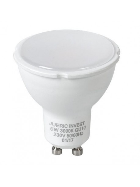 BOMBILLA LED GU10 UNIFORM 6W DE JUERIC